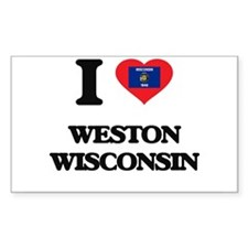 I love Weston Wisconsin Decal