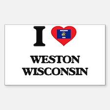 I love Weston Wisconsin Decal