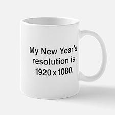 My New Year's Resolution Mug