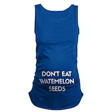 Watermelon Seeds Maternity Tank Top