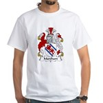Marsham Family Crest White T-Shirt