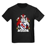 Marsham Family Crest Kids Dark T-Shirt