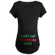 Watermelon Seeds Maternity T-Shirt