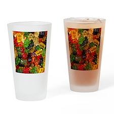 cute gummy bears Drinking Glass