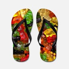cute gummy bears Flip Flops