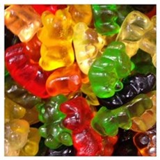 cute gummy bears Poster
