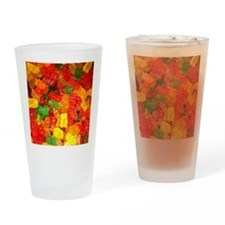 Funny Candy Drinking Glass