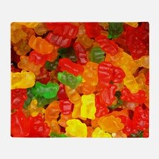 Cute Gummy bears Throw Blanket