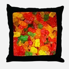 Unique Dessert and candy Throw Pillow