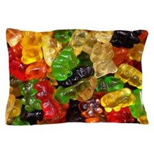 cute gummy bears Pillow Case