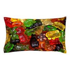 cute gummy bears Pillow Case