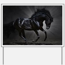 Dark Horse Yard Sign