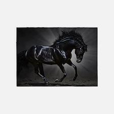 Dark Horse 5'x7'Area Rug