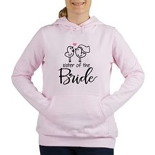 Sister of the Bride Women's Hooded Sweatshirt