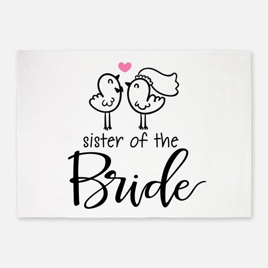 Sister of the Bride 5'x7'Area Rug