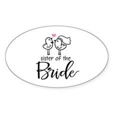 Sister of the Bride Decal