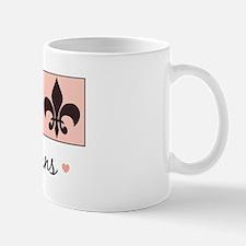 Peace Love New Orleans Mug