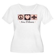 Peace Love New Orleans T-Shirt