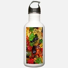 cute gummy bears Water Bottle