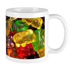cute gummy bears Mugs