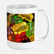 cute gummy bears Mugs