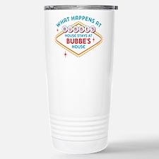 Las Vegas Stays At Bubb Stainless Steel Travel Mug