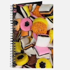 retro licorice candy Journal