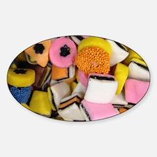 retro licorice candy Decal