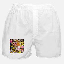 retro licorice candy Boxer Shorts