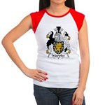 Marples Family Crest Women's Cap Sleeve T-Shirt