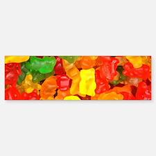 vintage gummy bears Bumper Bumper Bumper Sticker