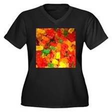 vintage gummy bears Plus Size T-Shirt