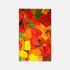 vintage gummy bears Area Rug