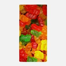 vintage gummy bears Beach Towel