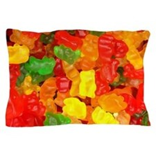 vintage gummy bears Pillow Case