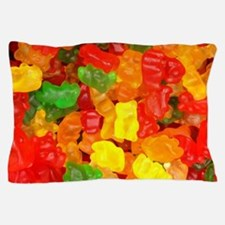 vintage gummy bears Pillow Case