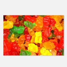 vintage gummy bears Postcards (Package of 8)