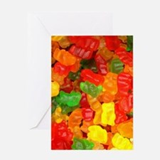 vintage gummy bears Greeting Cards