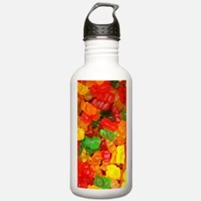 vintage gummy bears Water Bottle