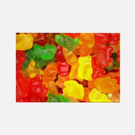 vintage gummy bears Magnets