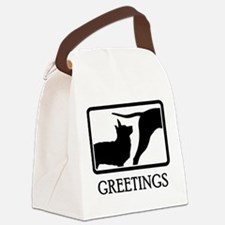 Lancashire Heeler Canvas Lunch Bag