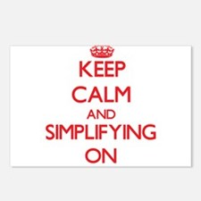 Keep Calm and Simplifying Postcards (Package of 8)