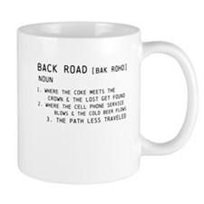 back road Mugs
