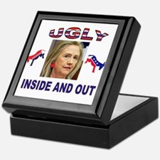 HILLARY NO Keepsake Box