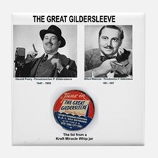THE GREAT GILDERSLEEVE - OLD TIME RAD Tile Coaster