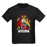 Marlowe Family Crest Kids Dark T-Shirt