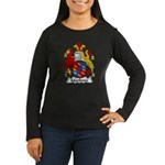 Marlowe Family Crest Women's Long Sleeve Dark T-Sh