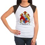 Marlowe Family Crest Women's Cap Sleeve T-Shirt