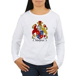 Marlowe Family Crest Women's Long Sleeve T-Shirt