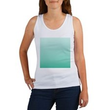 beach seafoam ombre Tank Top